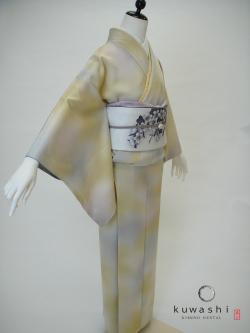 色無地 レンタル 東京 七五三 モダン