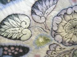 付下げ,刺繍,辻が花